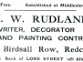Birdsall Row