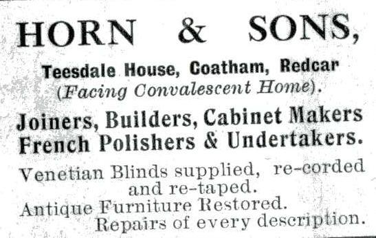 Horn & Sons Joiners Builders Teesdale House Coatham Road.jpg