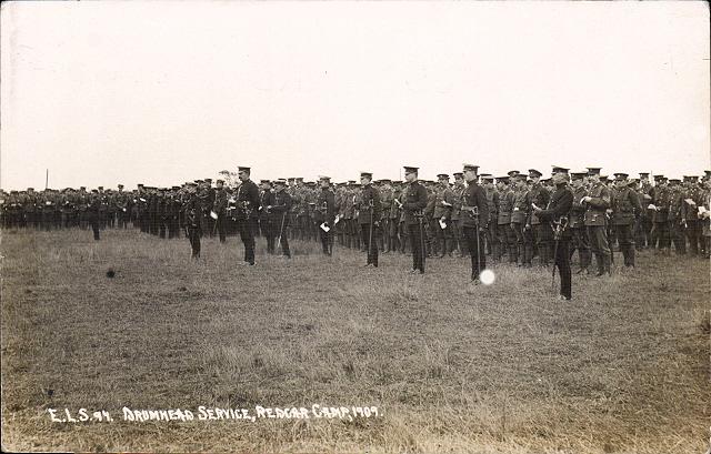 4064  Drumhead Service, Redcar Camp 1909.jpg
