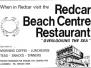 Redcar Beach Centre Resturant