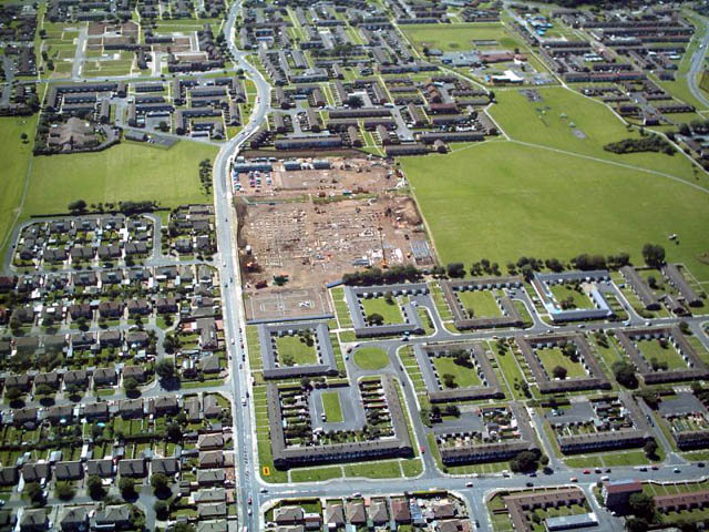 3319aerial view new hospital west dyke road 030808