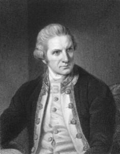 3763 James Cook Captain Navigator